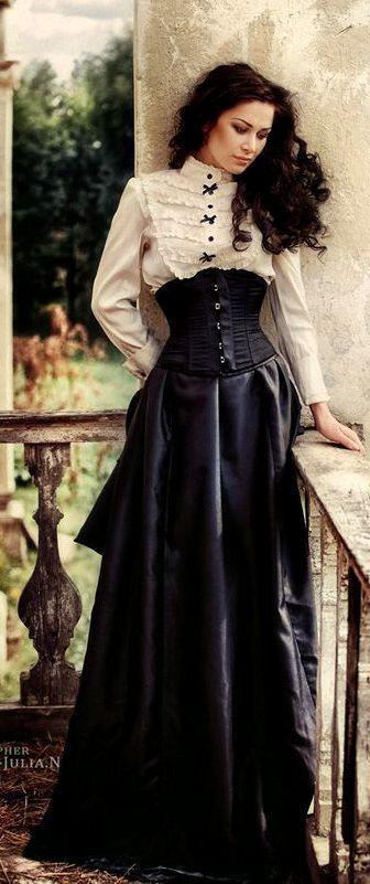 Resultado de imagen de vestidos victorianos