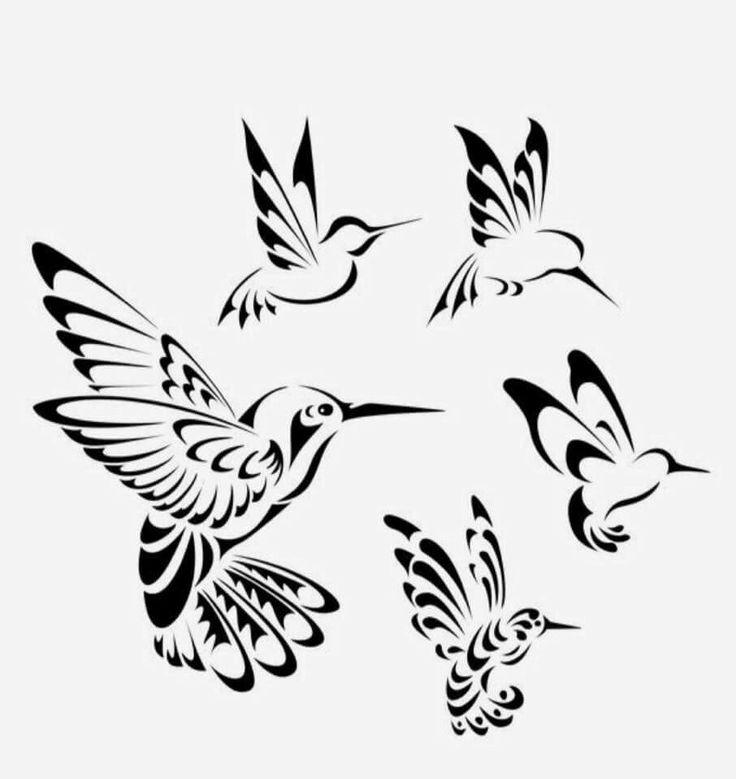 239 best tattoo images on pinterest tattoo designs for Hummingbird hip tattoo