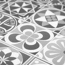 Adhesivos para azulejos - Vinilo para Azulejos de Cocina Escala de Grises - hecho a mano por Wall-Decals en DaWanda