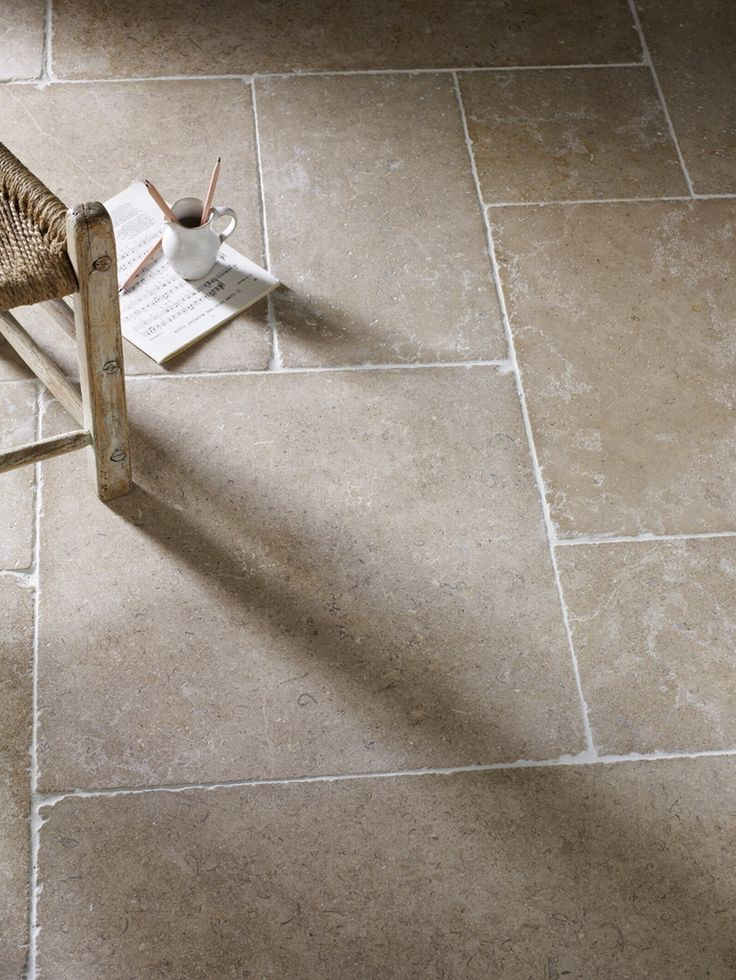 Dijon Tumbled Natural Stone Flooring