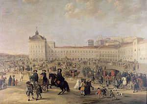 Ribeira Palace - destroyed in 1755 Lisbon earthquake