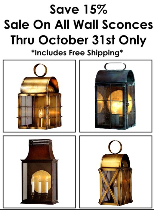 Bathroom Lighting Fixtures Made In Usa 22 best wall sconce copper lanterns and outdoor wall lights