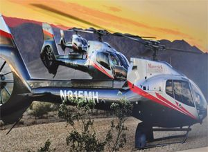 Want to see the Grand Canyon from a different perspective? Fly over the Grand Canyon in a helicopter!