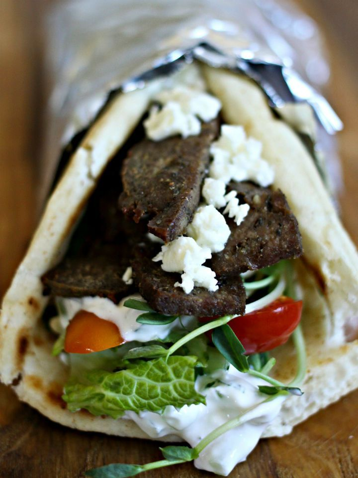 How to Make Authentic Homemade Gyros from Scratch - these have the same flavor and texture as the ones that come from a Greek restaurant!