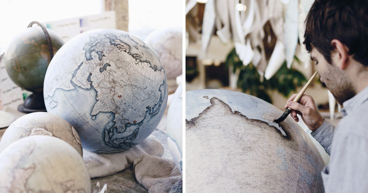We Hand-Craft World Globes The Same Way They Were Made Hundreds Of Years Ago | Bored Panda