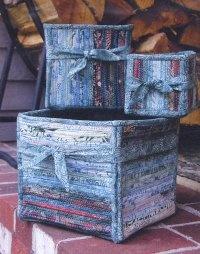 Fabric Boxes pattern