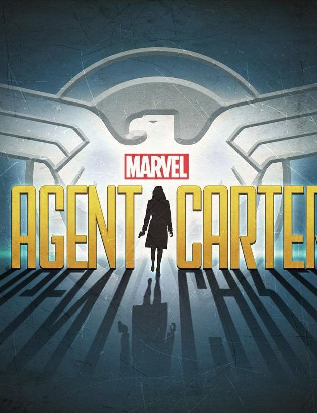 Agent Carter   With Hayley Atwell, Kyle Bornheimer, Meagen Fay, Lyndsy Fonseca. Peggy Carter becomes a S.H.I.E.L.D. agent during WW2 after her boyfriend, Steve Rogers (Captain America) is feared dead in an explosion.
