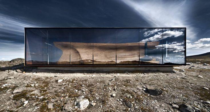 Tverrfjellhytta, Norwegian Wild Reindeer Pavilion – Snøhetta.