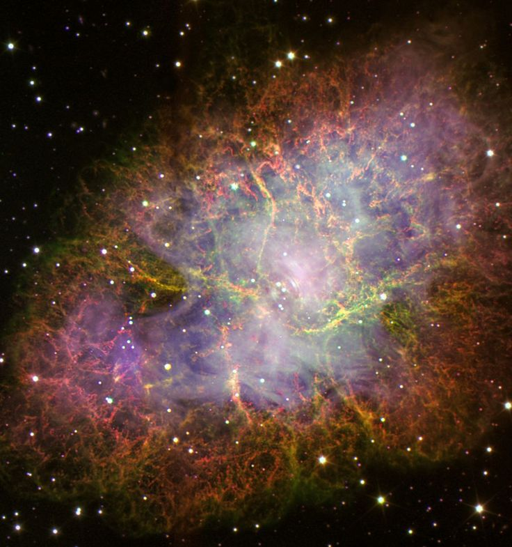 Universo Mágico: M1 La Nebulosa del Cangrejo