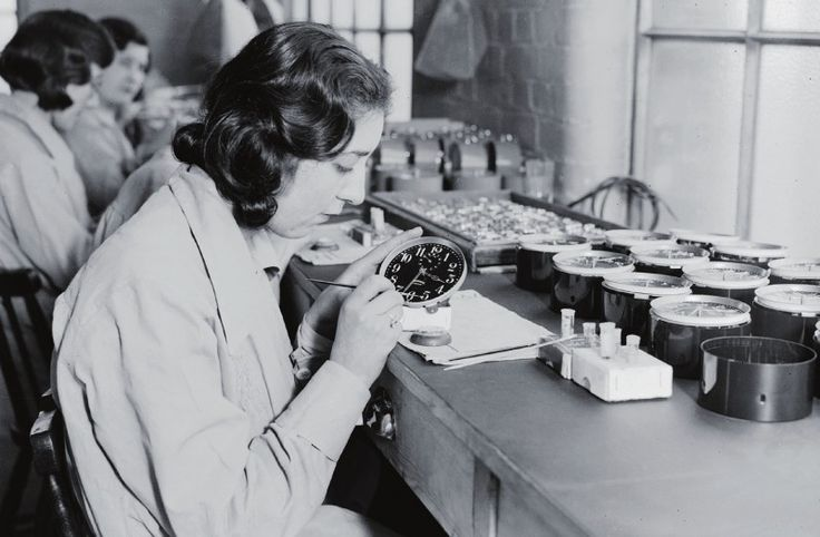 Story of the Radium Girls - factory workers painting with glow in the dark paint died by the dozens.