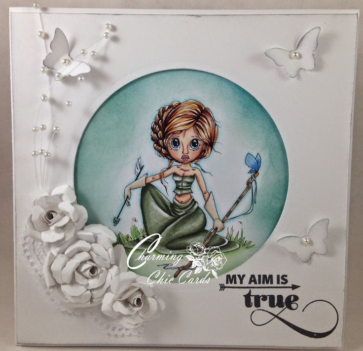 Charming Chic Cards: My aim is true