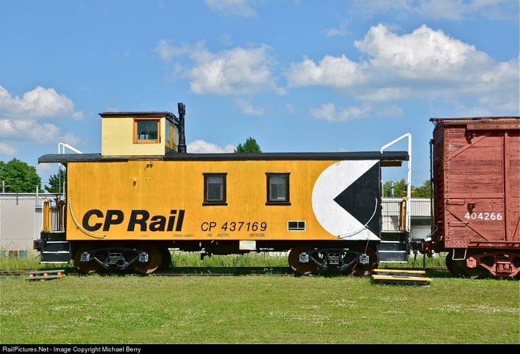 RailPictures.Net Photo: CP 437169 Canadian Pacific Railway Caboose at Smiths Falls, Ontario, Canada by Michael Berry