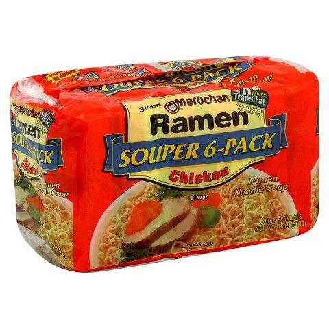 Maruchan Ramen Chicken Noodle Soup 6 ct