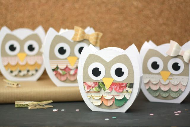 Sizzix Owl Bags || Creative Blogger Julia Klein for Sizzix UK  #diecutting #papercrafting #cratepaper #maggieholmes #owl