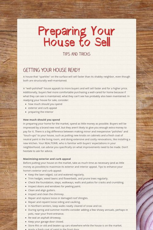 Preparing Your House to Sellwill connect you to smore a site for making flyers. I give and accept referrals 25% Keep me in mind. Corinne Madias @ Keller Williams.