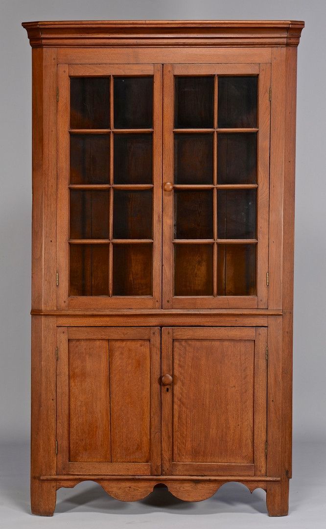 Corner Display Cabinet Pine Woodworking Projects Amp Plans