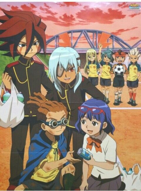 Royal Academy and Raimon jaja they are cool but mark and nathan are the best in this photo