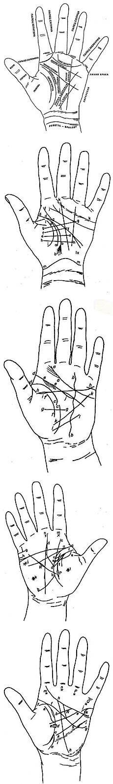 Магия руки и хиромантия - Линия жизни