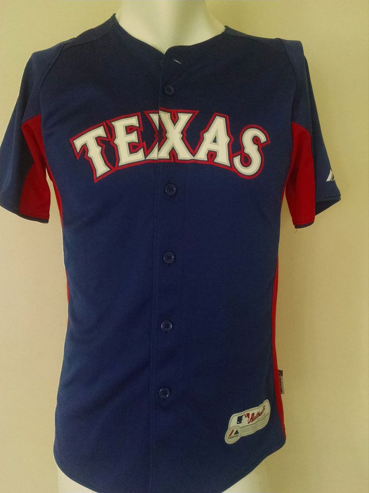 Murphy Texas Rangers 7 Jersey Youth Size XL Majestic Authentic #Majestic #TexasRangers
