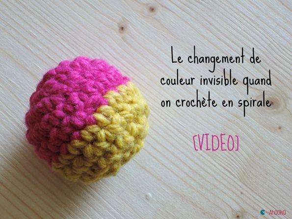 Les 60 meilleures images propos de crochet techniques sur pinterest trapillo crochet russe - Changer de couleur tricot ...