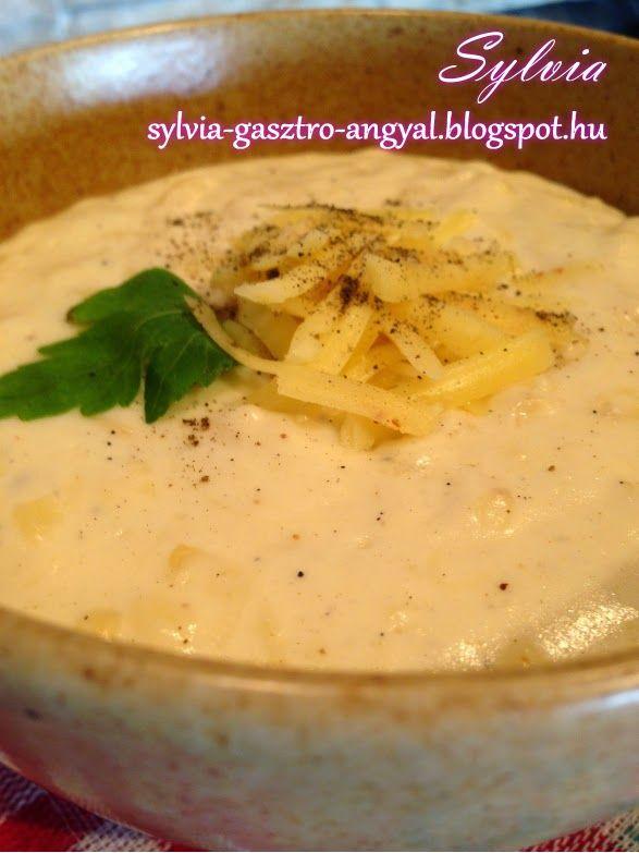 Sylvia Gasztro Angyal: Sajtmártás többféle sajtból
