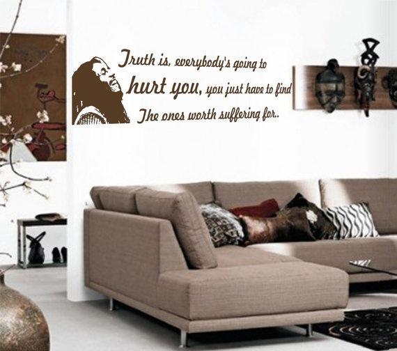 Truth Is Bob Marley Wall Decal $16.99 Part 63