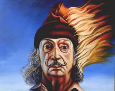 Malmroos Art-Shop - DALI SELF PORTRAIT (Powered by CubeCart ...