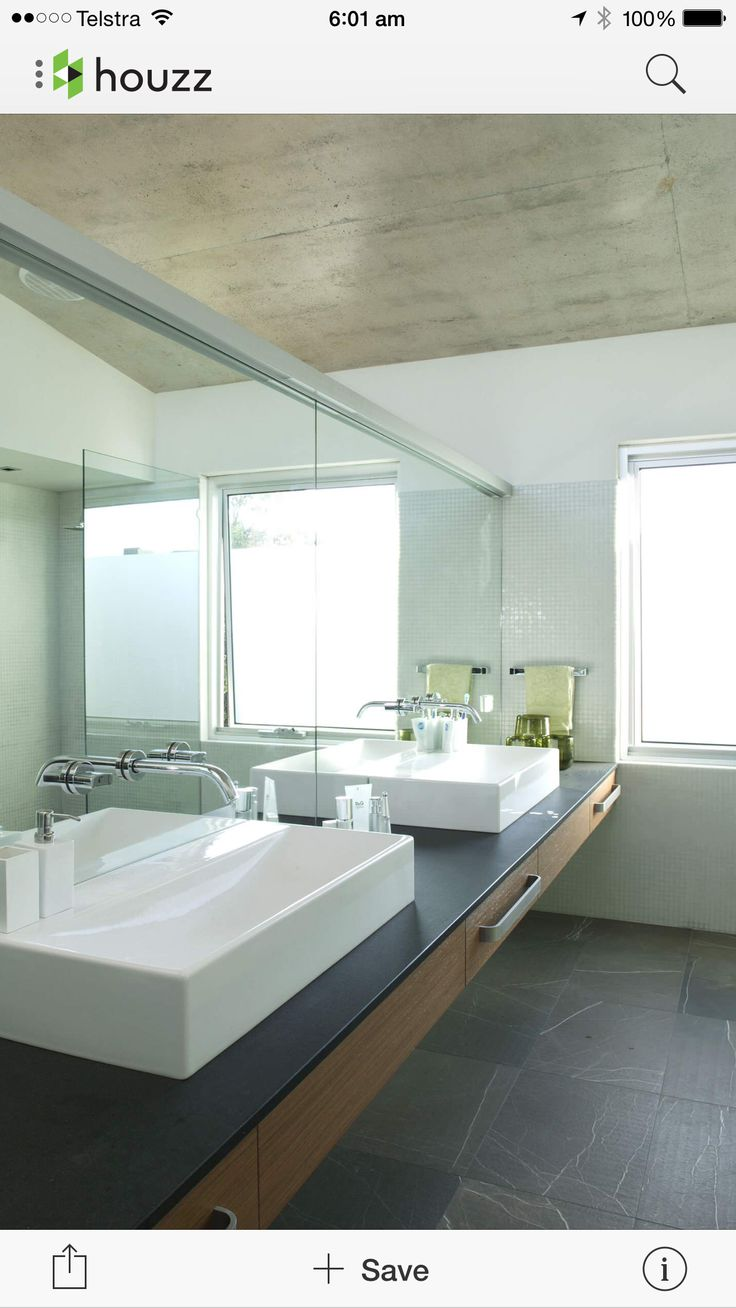 Balcony design ideas in apartment grenoble france home design and - Cottesloe House Contemporary Bathroom Perth Paul Burnham Architect Pty Ltd