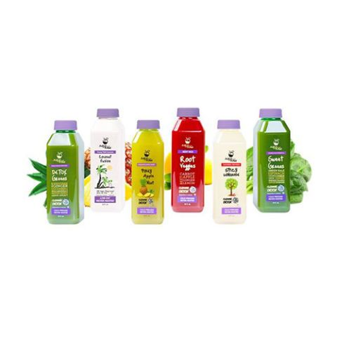 9 Best Detox Juice Cleanses - Delicious Juice Cleanse Packages - JUICE FROM THE RAW 3-DAY JUICE WHENEVER CLEANSE BOX - Includes: 6 juices per day - Duration: 3 days - $89, rakuten.com. Discover more easy juice cleanses at redbookmag.com.