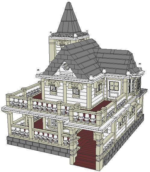 490 Best Lego Modulars And Houses Images On Pinterest