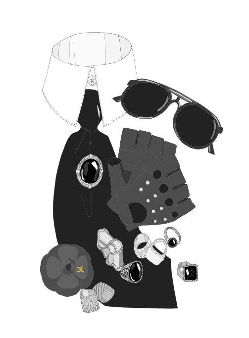 Karl Lagerfeld..Kristina Hultkrantz