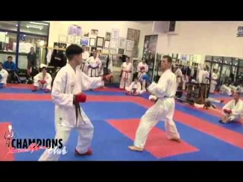 2014: Reaction Training2 at Champions dojo 22 septembre - YouTube