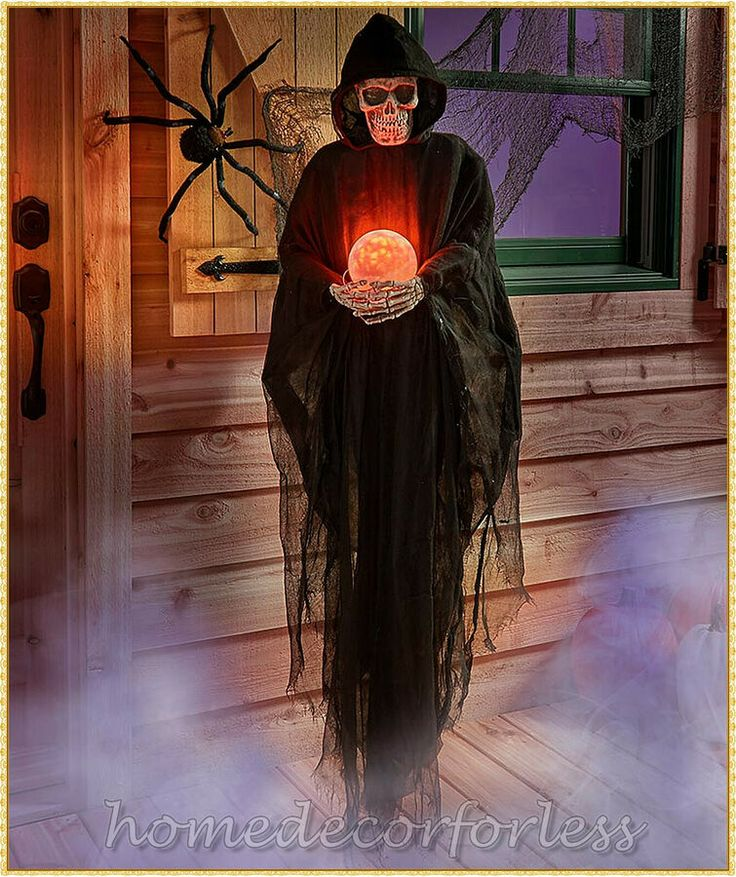 HALLOWEEN Life Size Psychic REAPER Haunted House Prop