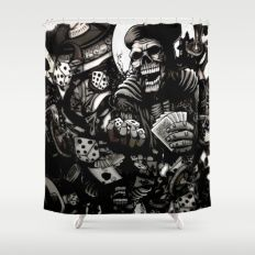 All 18 Shower Curtain