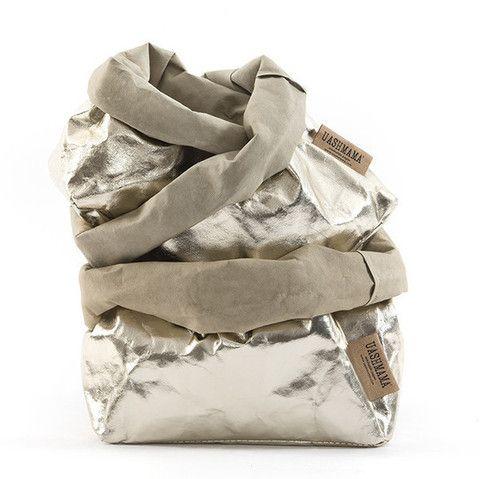 Metallic Bag Platino – THAT LITTLE SHOP