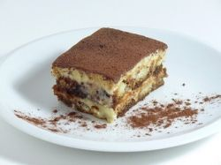 Tiramisu. 'Pick-me-up' in English. The most known from the Italian dessert recipes around the world. Espresso, Mascarpone, Savoardi are the basic ingredients of this superb Italian dessert.