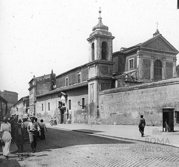 Via di San Giovanni in Laterano (1910 ca)
