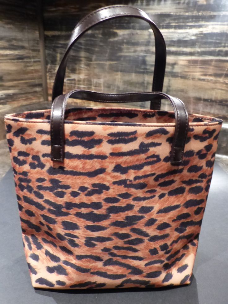 LEOPARD PURSE - Estee Lauder by   $21.20GOLLYWOODBOULEVARD on Etsy