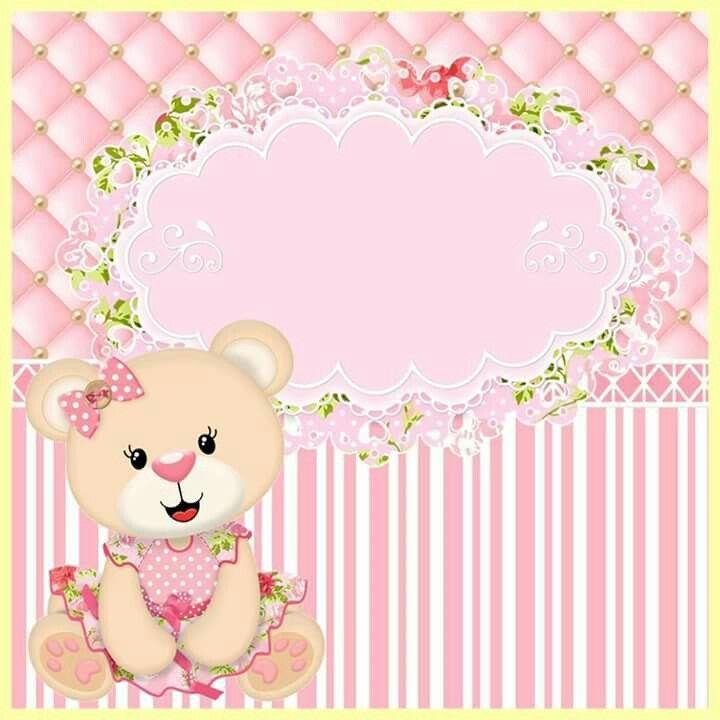 Artesanato Jornal E Revista ~ 25+ melhores ideias sobre Convite Ursinha Princesa no Pinterest Rosa marrom, Princesa rosa e
