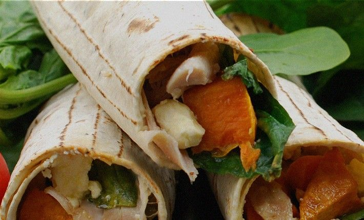 Make lunches for the whole family or take a picnic for six with these yummy kumara, chicken & spinach wraps. The kumara & onion may be roasted up to 3 days ahead and refrigerated in an airtight container. If cooking your own chicken with our easy recipe, you can cook it ahead of time and keep it in the fridge for up to 2 days.