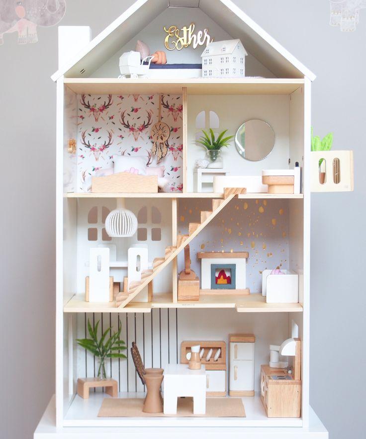 Modern Dollhouse DIY Ideas And Make Your Own Dollhouse