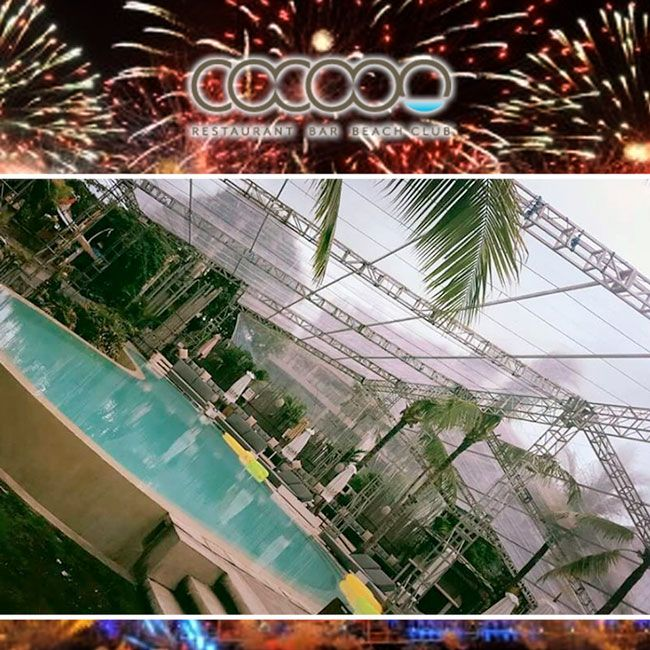 We've got you covered for Christmas and New Year at Cocoon. Have you booked: Email info@cocoon-beach.com #bali #christmasinbali #nyeinbali #cocoonbeachclub #beachclubbali @thebalibible