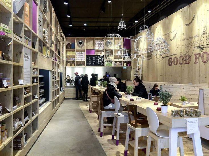 AECCafe.com - ArchShowcase - New WakuWaku Restaurant in Hamburg, Germany by Ippolito Fleitz Group
