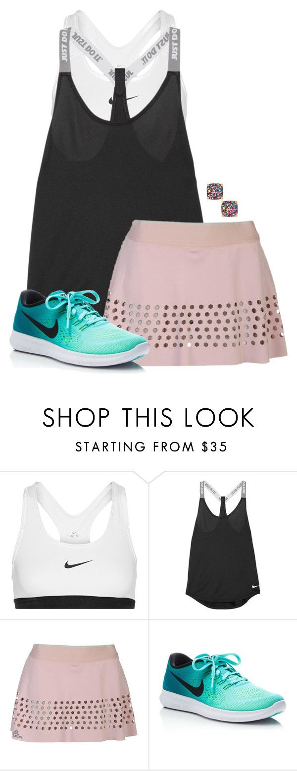 """Tennis match today🎾"" by auburnlady ❤ liked on Polyvore featuring NIKE and Kate Spade"