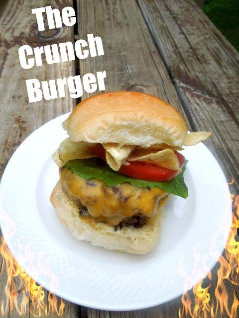 Bobby Flay's Crunch Burger ~~~ How to make Bobby Flay's Signature Burger, the crunch burger