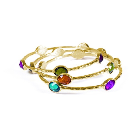 makenzi bracelet: Favorit Things, Ree Jewelry, Fashion, Color, Stackable Bangles, Gold Bracelets, Makenzi Bracelets, Pretty Bangles, Fall Holidays