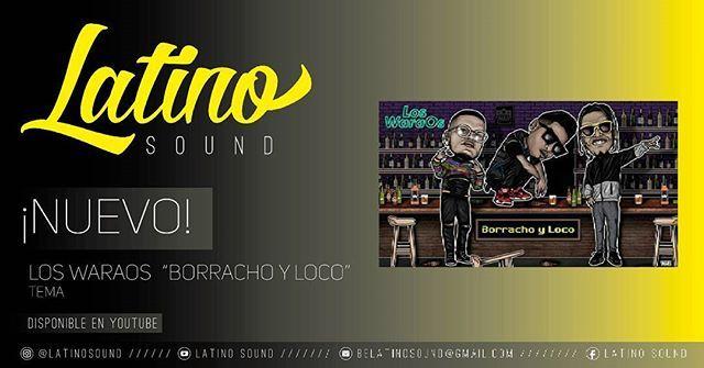 "Reposting @latinosound: ¡NUEVO! @sonloswaraos ""Borracho y Loco"" • Tema ¡disponible en @youtube! Arte | @mad.montana . #LatinoSound #music #song #new #venezuela #argentina #chile #peru #colombia #pr #rd #latino #artist #2017 #hiphop"