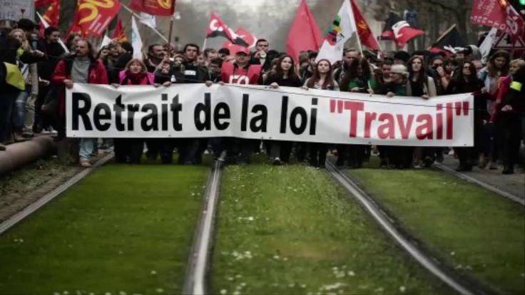 https://www.youtube.com/watch?v=vjVIlKr5Kq8  La Stratégie de la Distraction Manifestation Loi Travail Juin 2016 vs L'Euro FootBall 2016 #lastratégiedeladistraction #manifestationloitravailjuin2016 #eurofootball2016 #loitravail #loielkhomri #manifnews