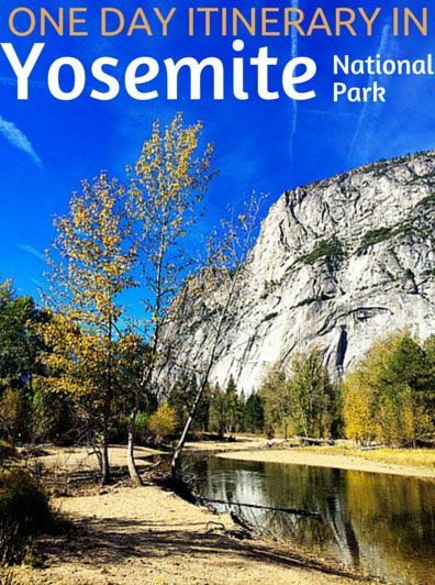 Yosemite National Park- Best family vacation and the best itinerary you could need for one day (or even several) in the park.