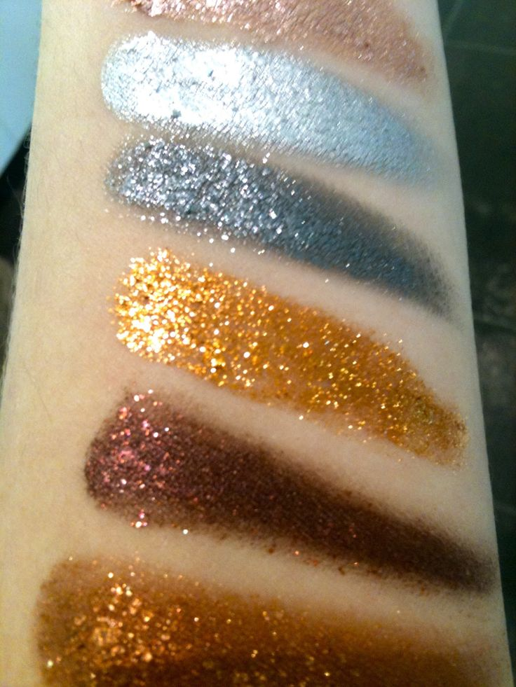 Stila Magnificent Metals Eyeshadows~ Swatches and First Impressions